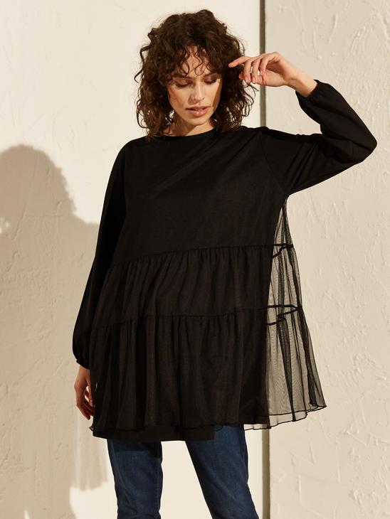 BLACK - Tunic - 0SO179Z8