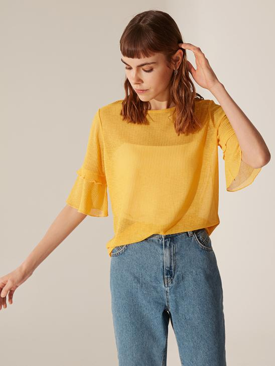 YELLOW - T-Shirt - 0SN026Z8
