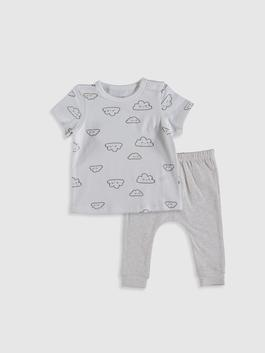 ECRU - Baby Boy's T-Shirt and Trousers