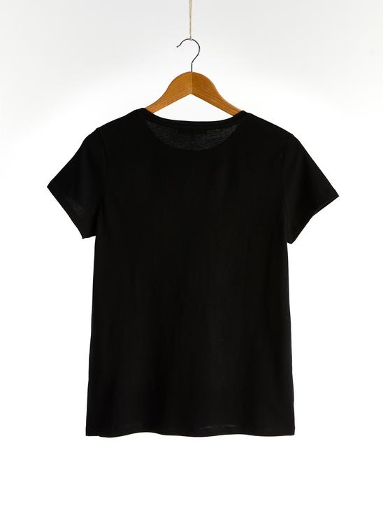 BLACK - T-Shirt - 0SP206Z8