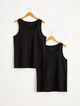 BLACK - 2-pack Standard Fit Tank Top