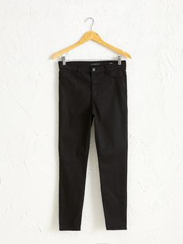 BLACK - High Waist Super Skinny Jeans
