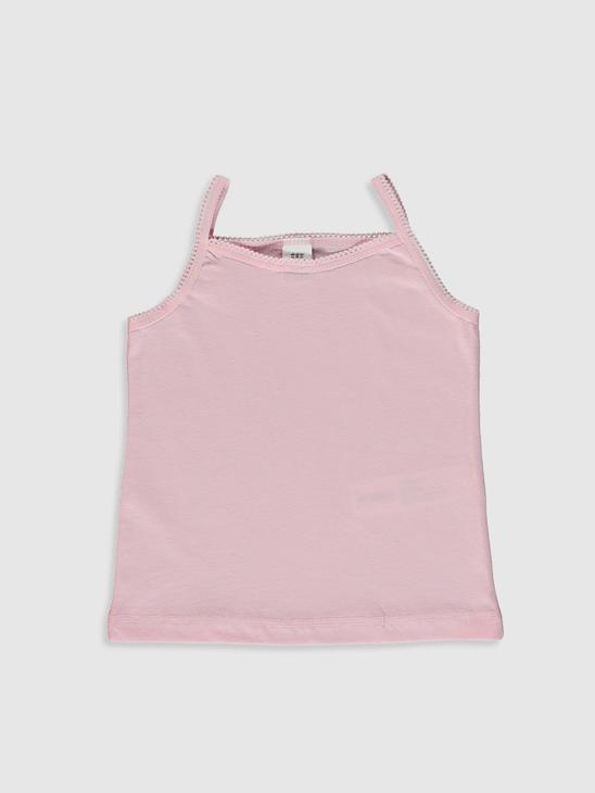 WHITE - 2-pack Baby Girl's Cotton Tank Top - 0SI268Z1