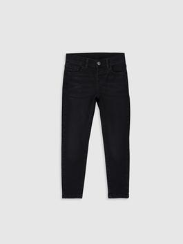 BLACK - Boy's Super Skinny Jeans