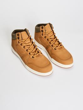 BEIGE - Men's Casual High-cut Shoes