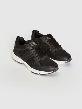 BLACK - Women's Active Lace-up Trainers