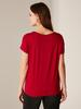 BORDEAUX - Stretch Viscose T-Shirt - 0S8049Z8