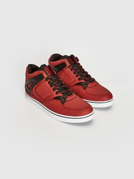RED - Men's Casual High-cut Trainers