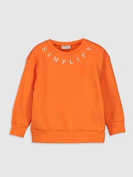 ORANGE - Girl's Sweatshirt