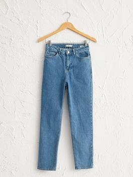 INDIGO - Ankle Length Slim Jeans