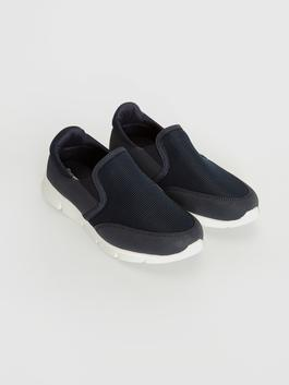 NAVY - Men's Slip On Active Trainers
