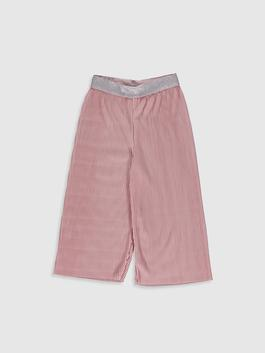 PINK - Girl's Pleated Trousers