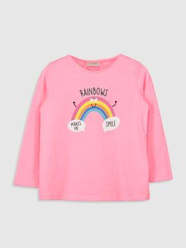 PINK - Girl's Printed T-Shirt