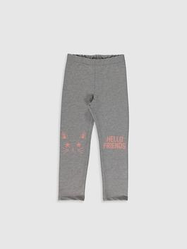 GREY - Girl's Leggings