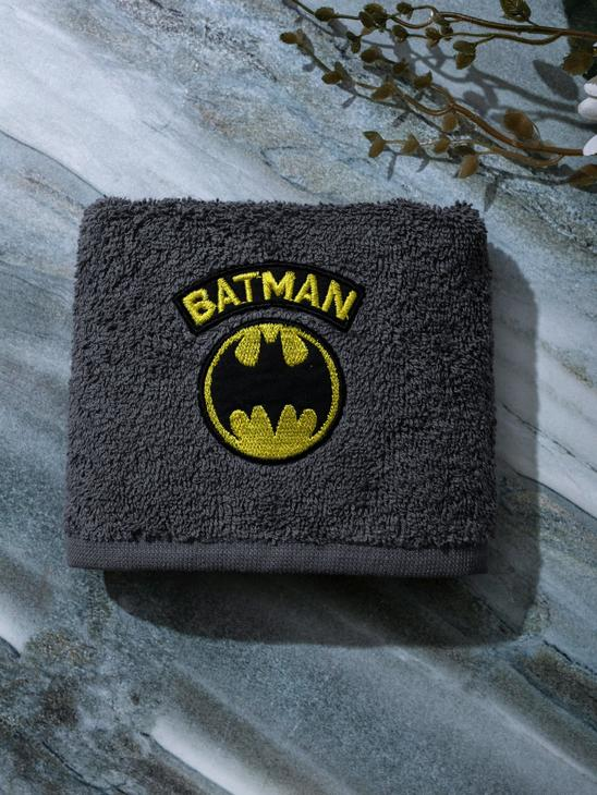 GREY - Batman Licensed Children's Hand Towel - 0WCN63Z4