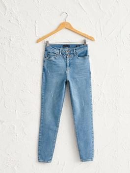 INDIGO - Ankle Length Super Skinny Jeans