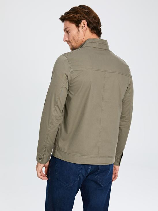 KHAKI - Short Coat - 0S0914Z8