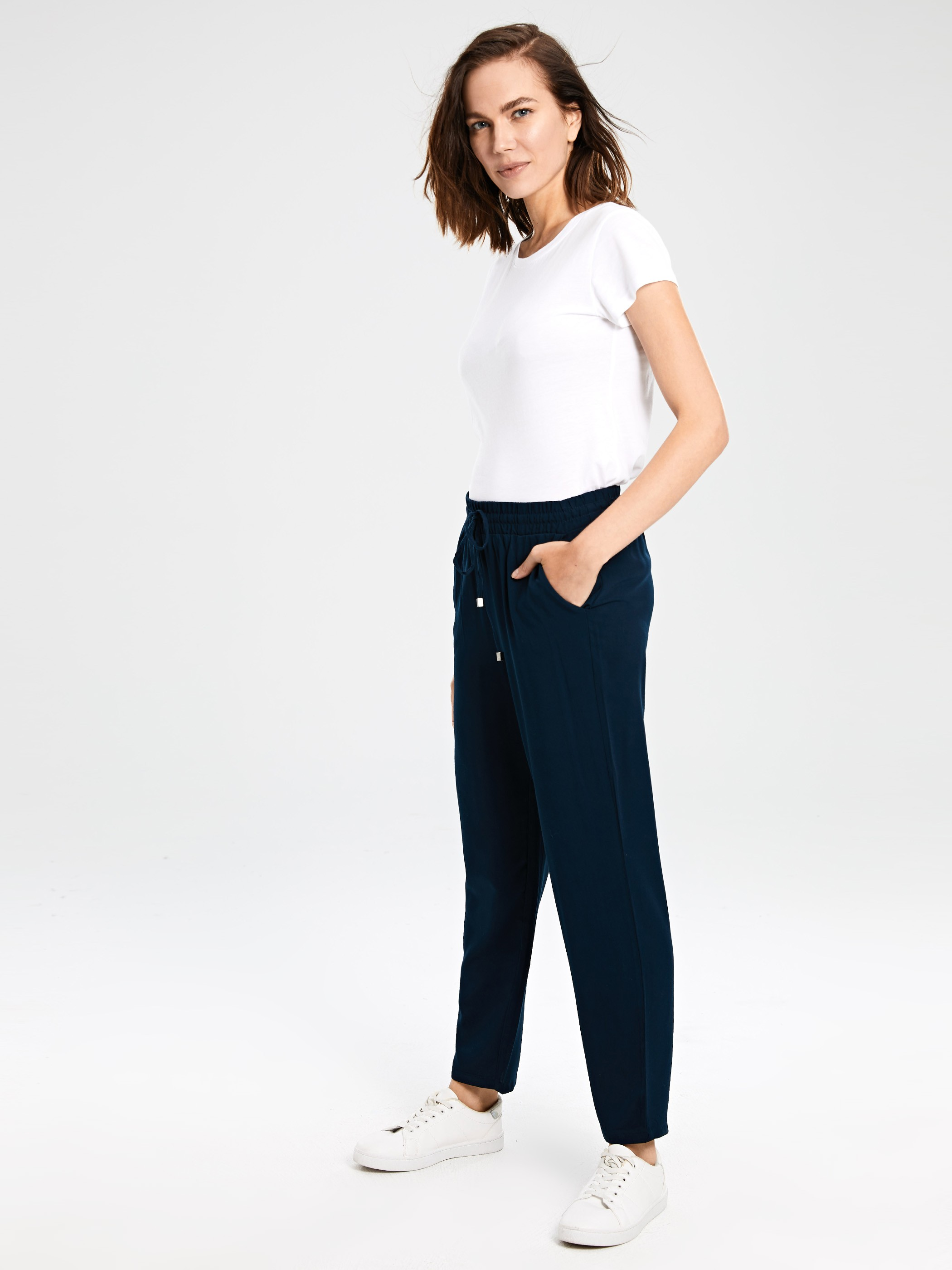 NAVY - Trousers - 0S2673Z8