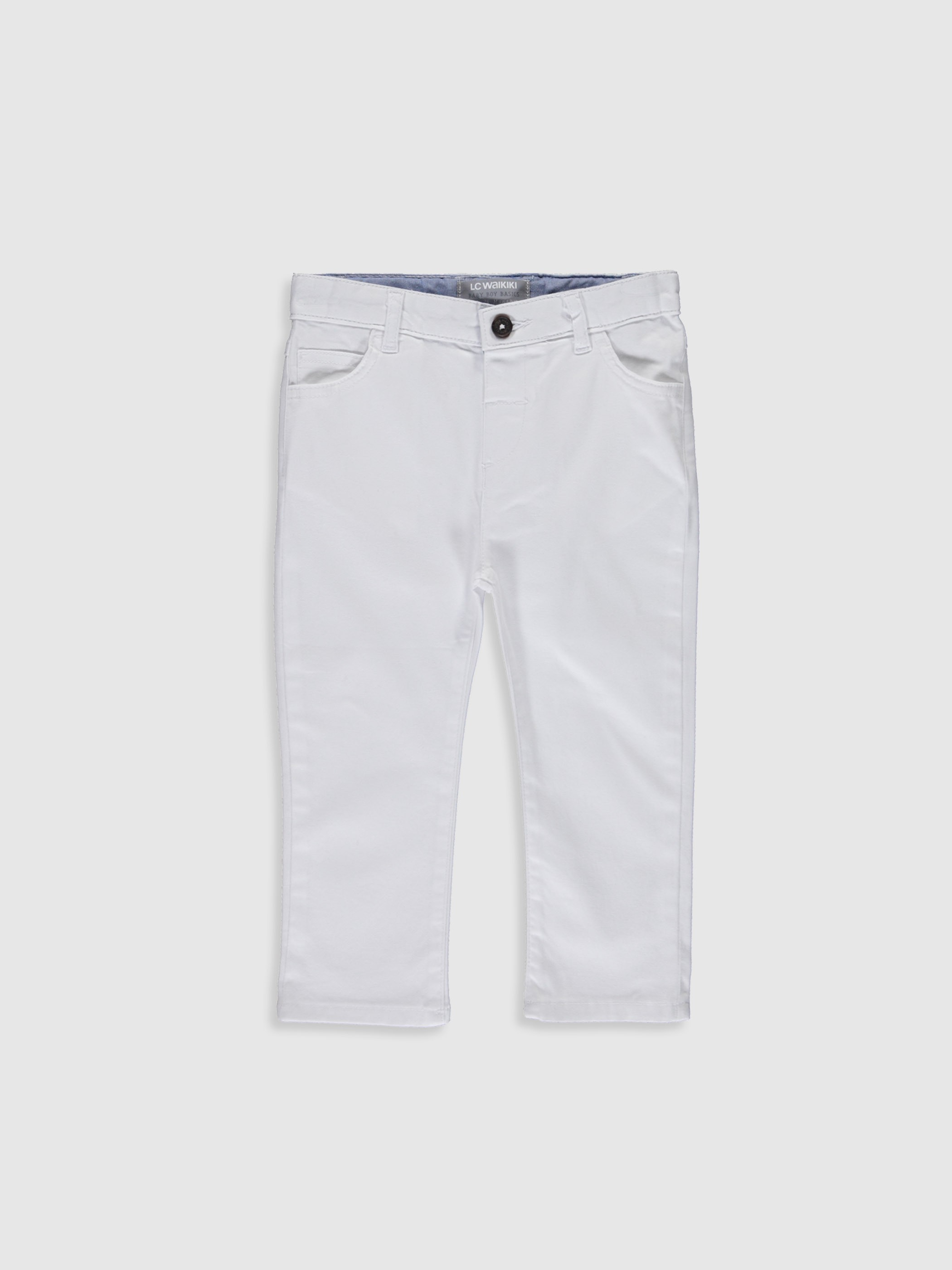 WHITE - Trousers - 0S1082Z1