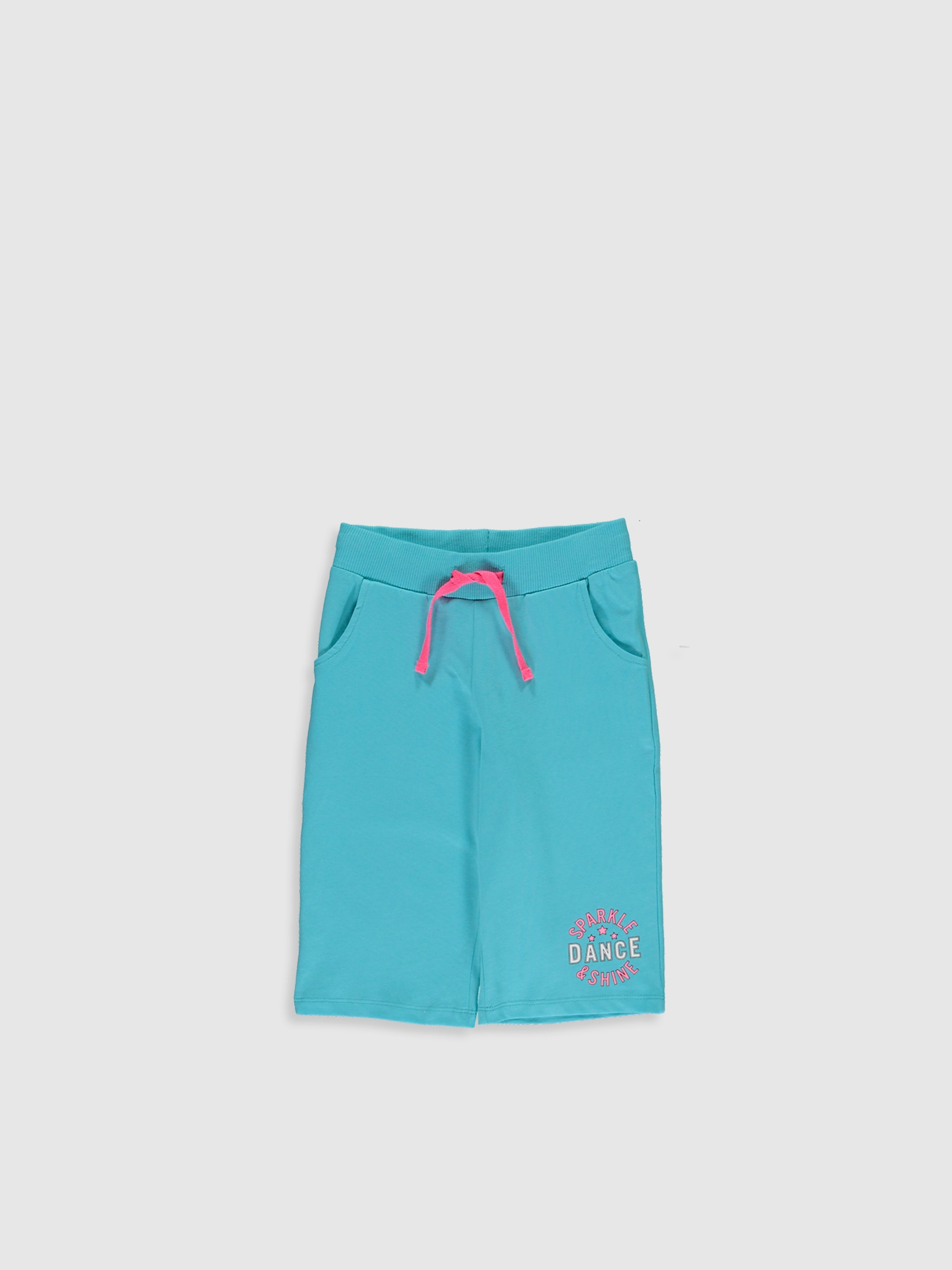 TURQUOISE - Girl's Printed Shorts - 0S4989Z4
