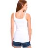 WHITE - Stretch U-Neck Tank Top - 8S4784Z8
