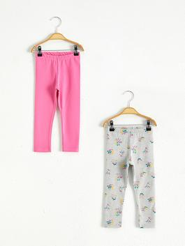 PINK - 2-pack Baby Girl's Long Leggings