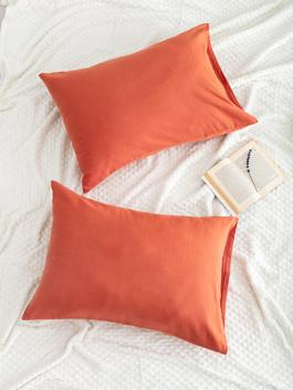 BROWN - 2-pack Pillow Case