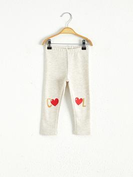 BEIGE - Baby Girl's Leggings