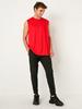 RED - Standard Fit Active Sport Tank Top - 0WFI71Z8