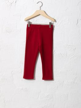 RED - Baby Girl's Long Leggings