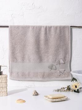BEIGE - Embroidery Face Towel