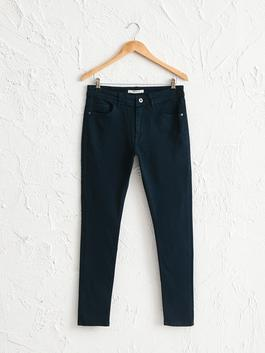 NAVY - Extra Slim Fit Chino Trousers