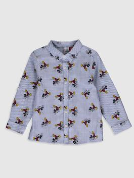 BLUE - Baby Boy Mickey Mouse Printed Shirt