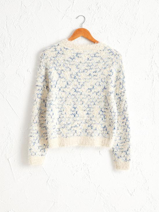 BEIGE - Patterned Thick Sweater - 0W6163Z8