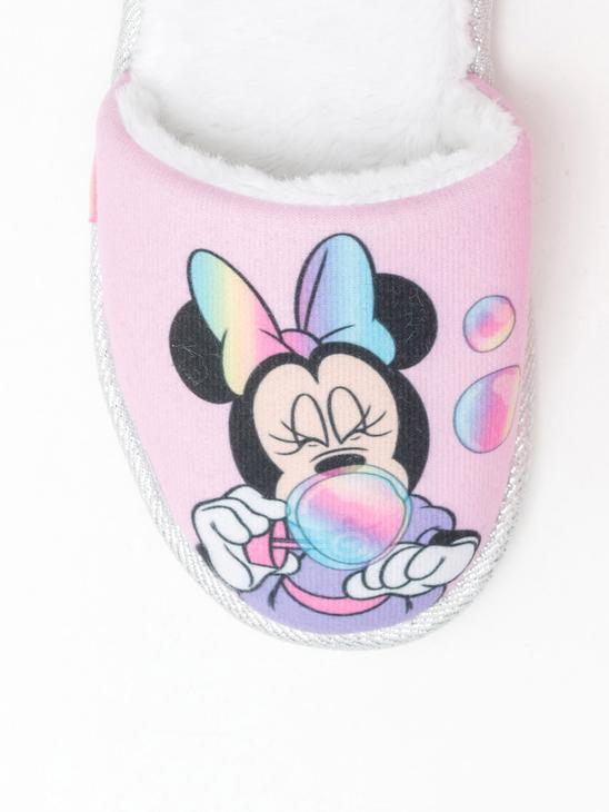 PINK - Girl's Minnie Mouse Printed Home Slippers - 0WAS35Z4