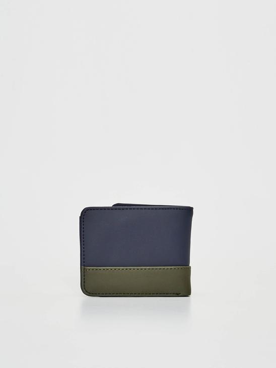 NAVY - Colour-Block Wallet - 0W3670Z8