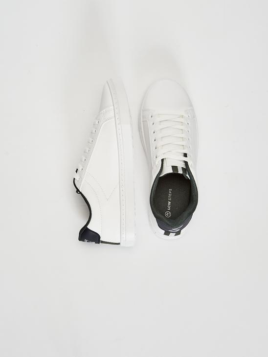 WHITE - Men's Casual Lace-up Trainers - 0WG886Z8