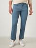 BLUE - Slim Fit Men's Chino Trousers - S11247Z8
