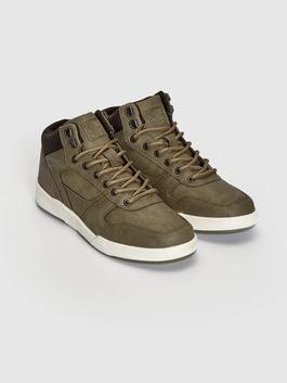 KHAKI - Men's Casual High-cut Shoes