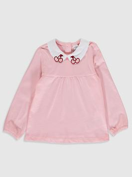 PINK - Baby Girl's Cotton T-Shirt