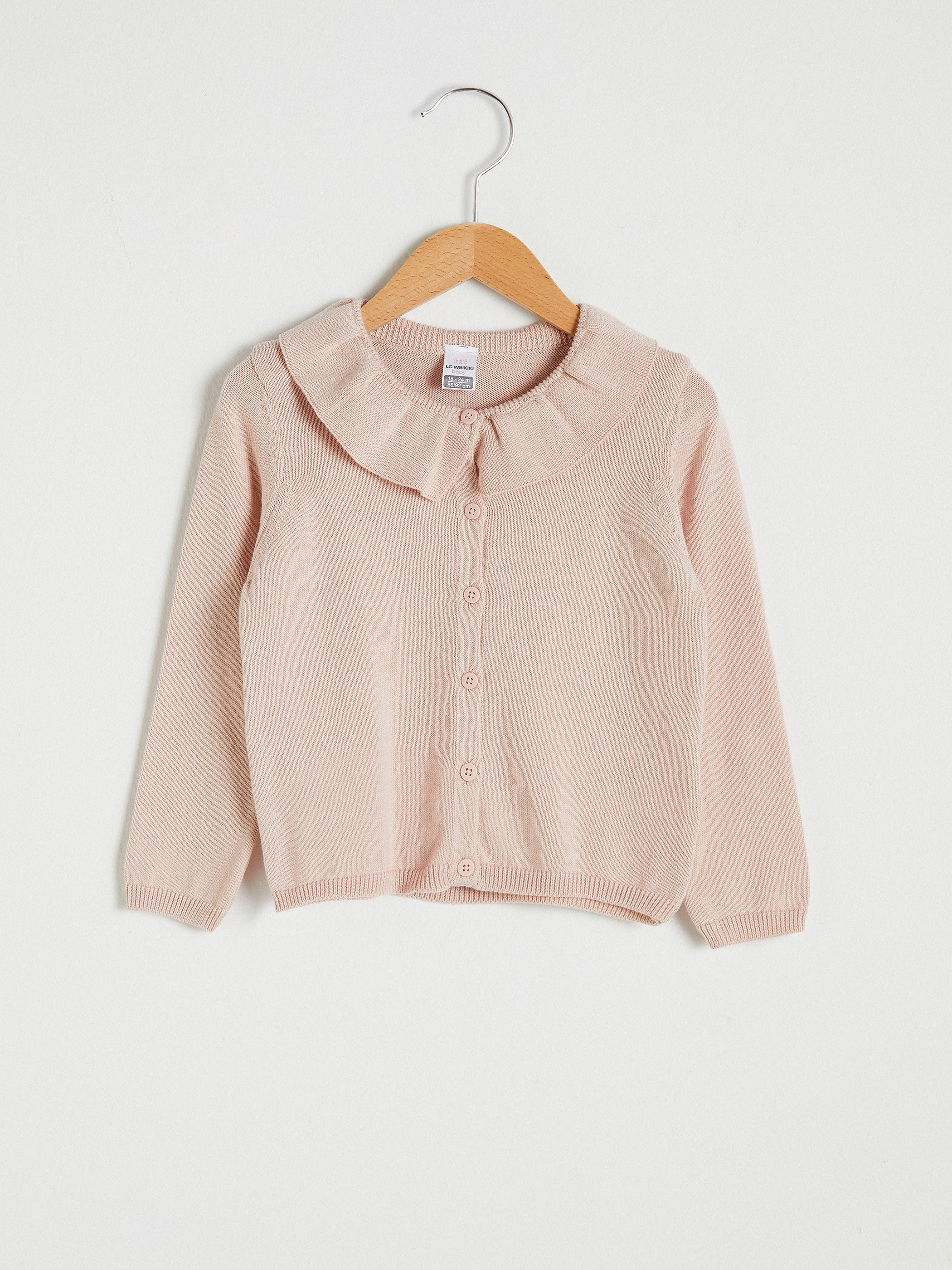 PINK - Baby Girl's Tricot Cardigan - S17378Z1