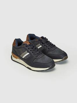 NAVY - Men's Casual Lace-up Shoes