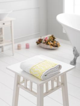 WHITE - Face Towel