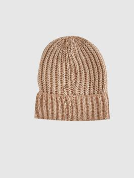 PINK - Shimmer Detailed Knitwear Beanie