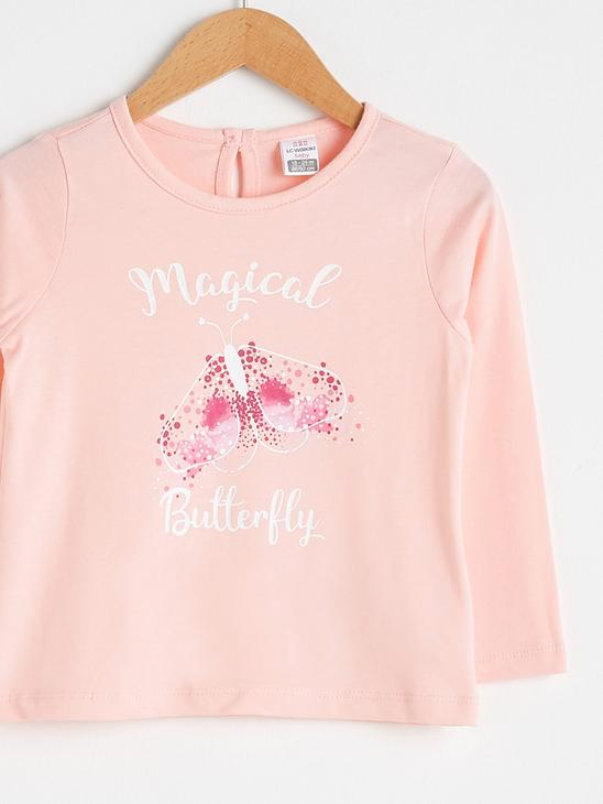 PINK - Baby Girl's Printed T-Shirt - S15146Z1
