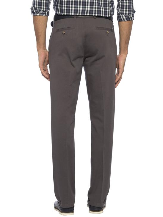 GREY - Comfortable Fit Chino Trousers - 6KK134Z8