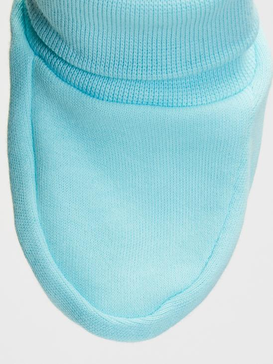 WHITE - 2-pack Baby Boy's Booties - 9WG942Z1