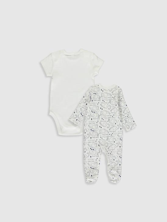 WHITE - Newborn Set - 9WH160Z1