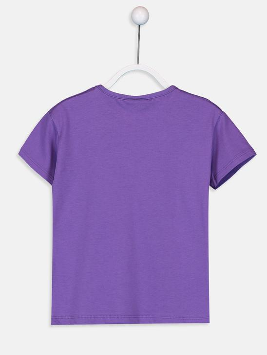 PURPLE - T-Shirt - 9SU122Z4