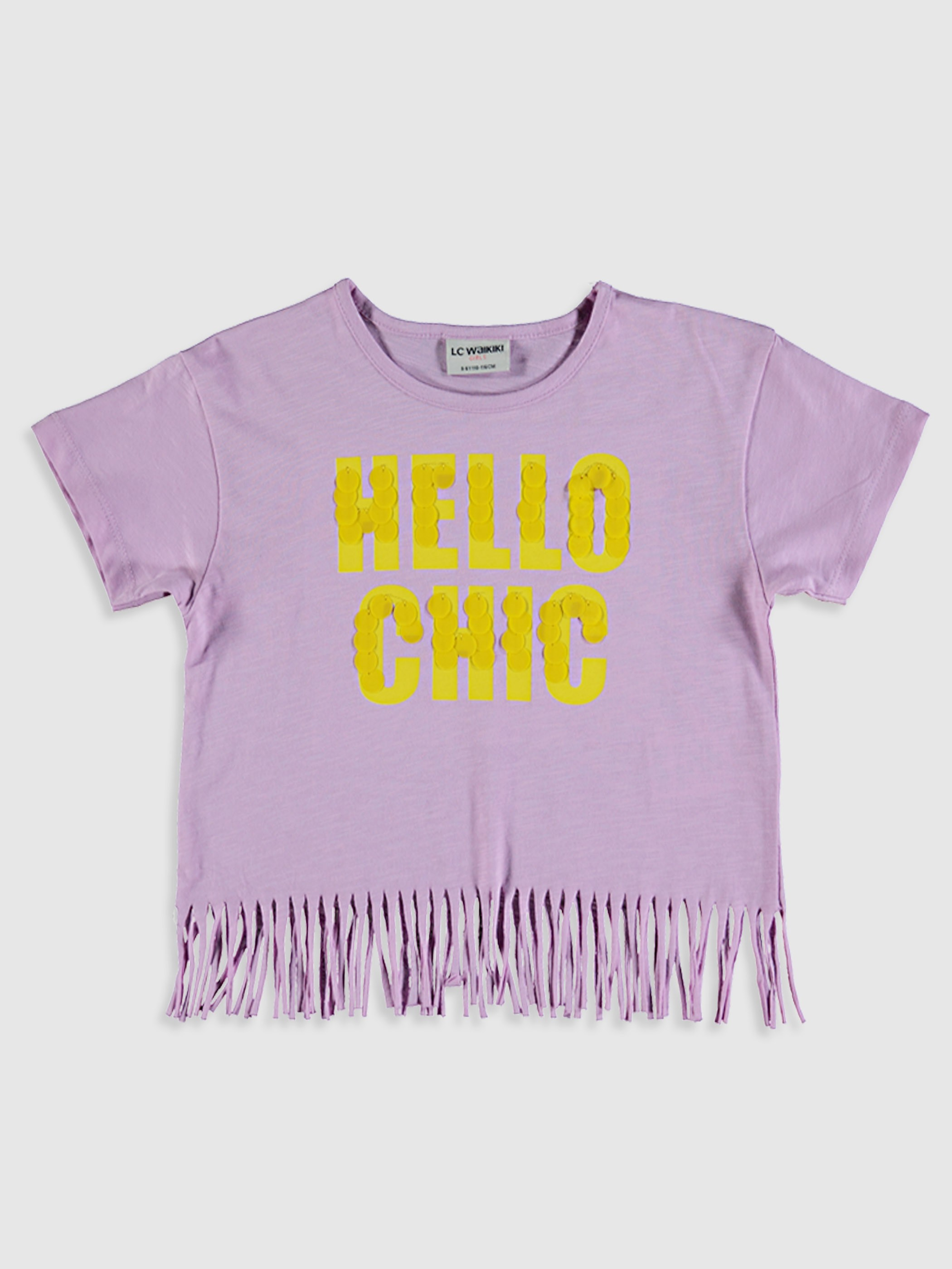 LILAC - Girl's Printed Cotton T-Shirt - 9SU113Z4